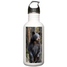 Standing Black Bear Cu Water Bottle
