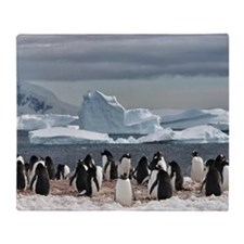 Penguin Throw Blanket