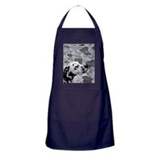 Blue-eyed spot Apron (dark)