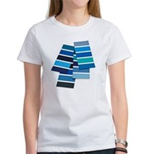 Blue color swatch Tee