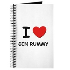 I love gin rummy Journal
