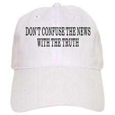 Don't Confuse The News Baseball Cap