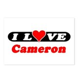 I Love Cameron Postcards (Package of 8)