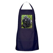 Mountain Gorilla Apron (dark)