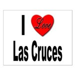 I Love Las Cruces Small Poster