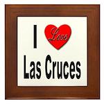 I Love Las Cruces Framed Tile