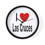 I Love Las Cruces Wall Clock
