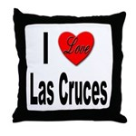 I Love Las Cruces Throw Pillow