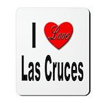 I Love Las Cruces Mousepad
