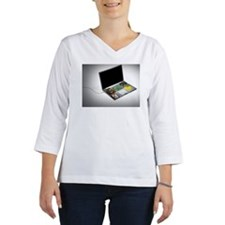 Laptop interior Women's Long Sleeve Shirt (3/4 Sleeve)