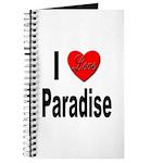 I Love Paradise Journal