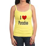 I Love Paradise Jr. Spaghetti Tank