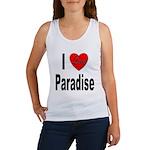 I Love Paradise Women's Tank Top