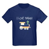 I Love Trains T