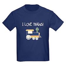 I Love Trains T