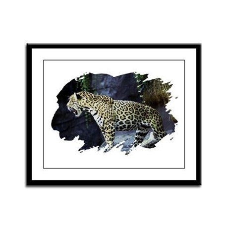 Jaguar Framed Panel Print