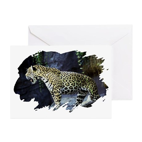 Jaguar Greeting Cards (Pk of 10)