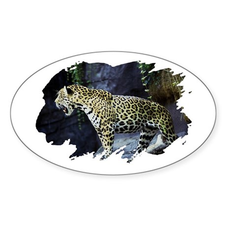 Jaguar Oval Sticker