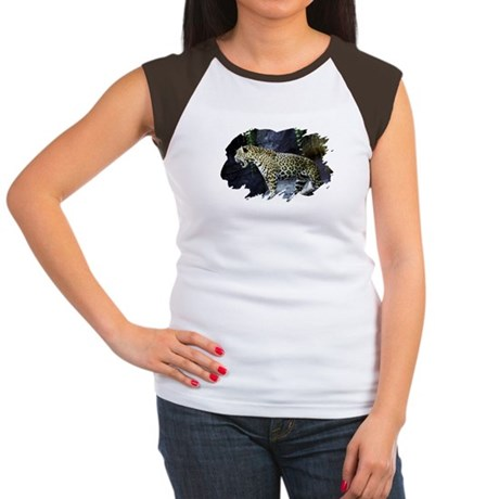 Jaguar Women's Cap Sleeve T-Shirt