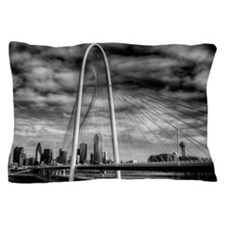 Dallas, TX Margaret Hunt Hill Bridge Pillow Case