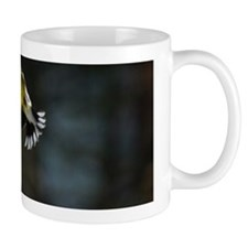 Goldfinch in flight Mug