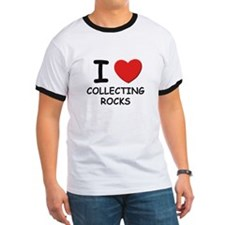 I love collecting rocks T