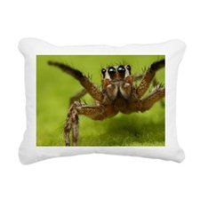 Jumper spider Rectangular Canvas Pillow