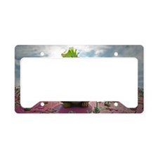 Squirrel hood ornament License Plate Holder