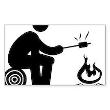 Marshmallow-Burning-AAA1 Bumper Stickers