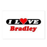 I Love Bradley Postcards (Package of 8)