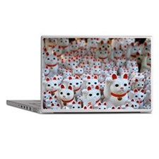 Maneki neko cats Laptop Skins