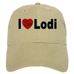 I Love Lodi Cap