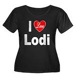 I Love Lodi (Front) Women's Plus Size Scoop Neck D
