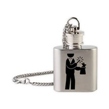 Magician-AAA1 Flask Necklace