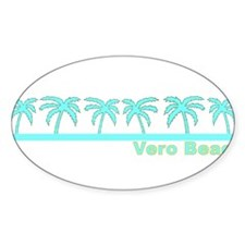 Vero Beach, Florida Oval Decal