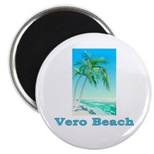 "Vero Beach, Florida 2.25"" Magnet (100 pack)"
