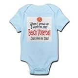 WIGU Beach Volleyball Dad Onesie