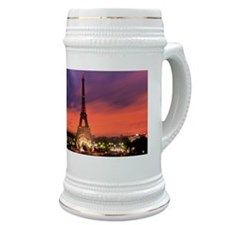 Eiffel tower at sunrise Stein