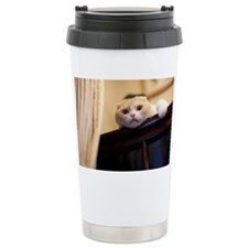 Portrait cat Travel Coffee Mug