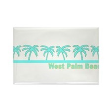 West Palm Beach, Florida Rectangle Magnet (10 pack