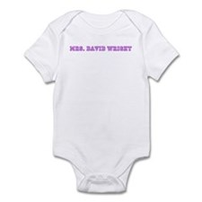 mrs. david wright  Infant Bodysuit