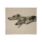 Greyhound blanket Fleece Blankets
