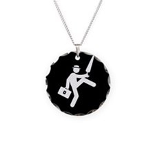 Silly-Walks-AAB1 Necklace