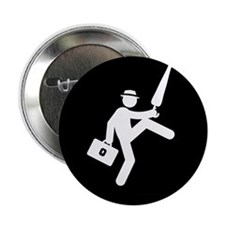 "Silly-Walks-AAB1 2.25"" Button"