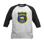 Butte County Sheriff Kids Baseball Jersey