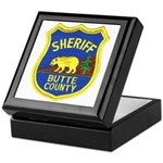 Butte County Sheriff Keepsake Box