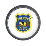 Butte County Sheriff Wall Clock