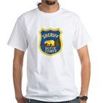 Butte County Sheriff White T-Shirt
