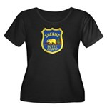 Butte County Sheriff Women's Plus Size Scoop Neck