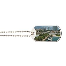 Cityscape of Puerto Vallarta Dog Tags